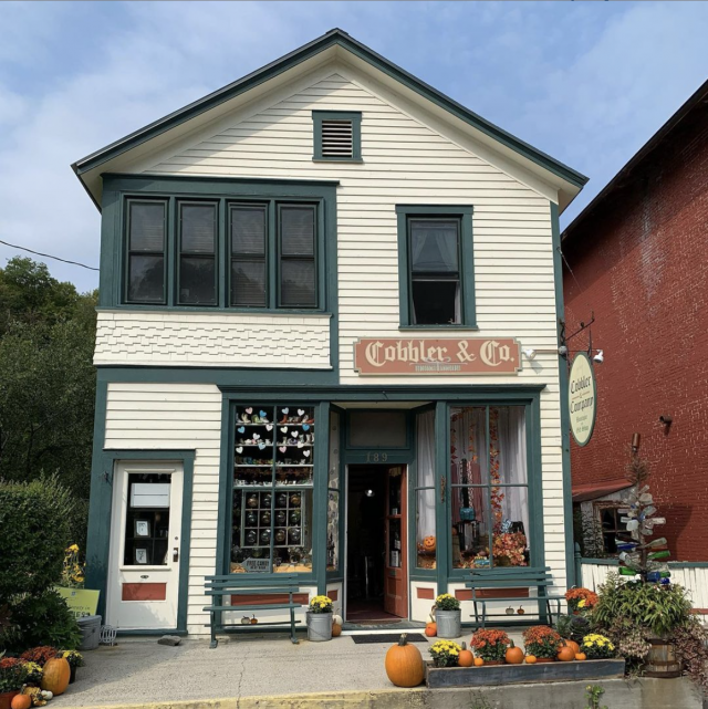 Front of the Cobbler & Co building